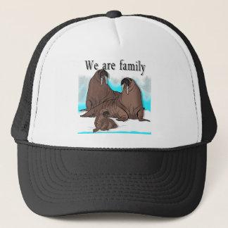 Wir sind Familie Truckerkappe