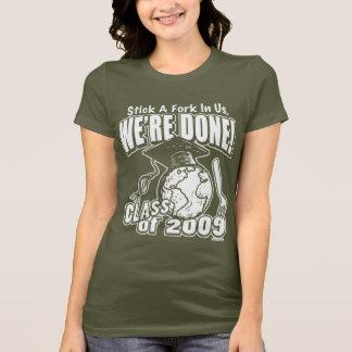 Wir sind getane Abschluss-Shirt-Geschenke 2009 T-Shirt