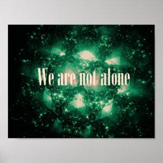 Wir sind nicht allein poster