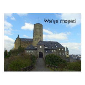 Wir sind - Schlossmotivkarten umgezogen Postkarten