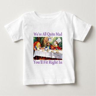 Wir sind, Sie passen nach rechts herein alles Baby T-shirt