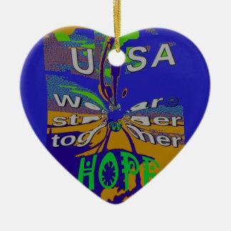 Wir sind stärkeres zusammen lustiges keramik ornament