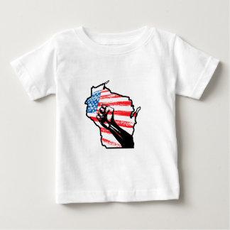 Wir sind Wisconsin Baby T-shirt