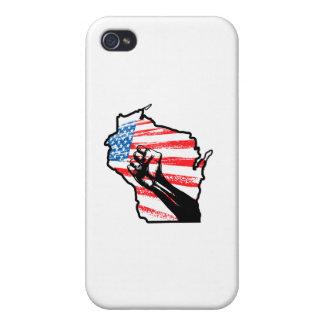 Wir sind Wisconsin iPhone 4 Etuis