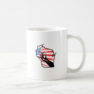Wir sind Wisconsin Kaffeetassen