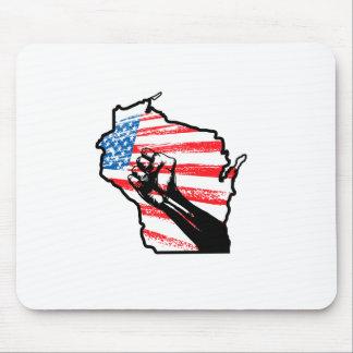 Wir sind Wisconsin Mauspad