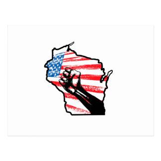 Wir sind Wisconsin Postkarte