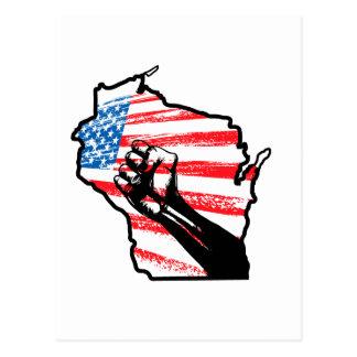 Wir sind Wisconsin Postkarten