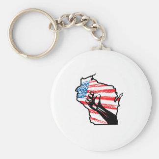 Wir sind Wisconsin Schlüsselband