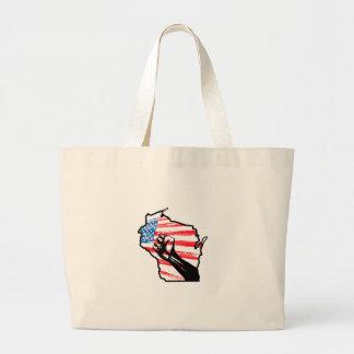 Wir sind Wisconsin Tasche