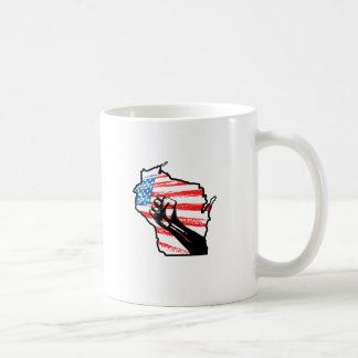 Wir sind Wisconsin Tasse
