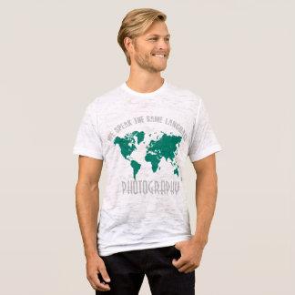 Wir sprechen die gleiche Sprachen-FOTOGRAFIE T-Shirt