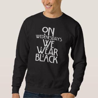 Wir tragen Schwarzes Sweatshirt