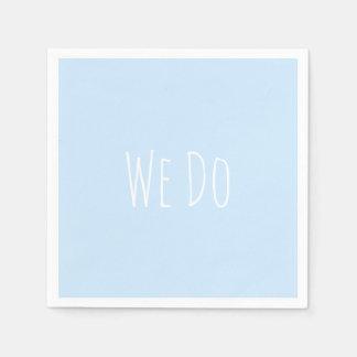 Wir tun papierservietten