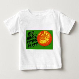 Wir waren nie allein baby t-shirt