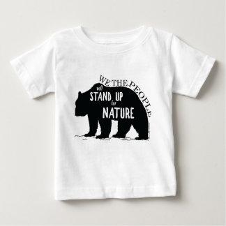 Wir, welche die Leute oben für Natur - Bär stehen Baby T-shirt