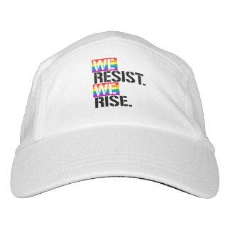 Wir widersetzen uns uns steigen - - LGBTQ Rechte - Headsweats Kappe