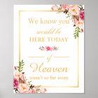 Wir wissen, dass Sie hier schickes Hochzeits-mit Poster