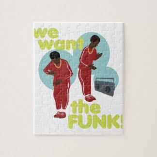 Wir wollen den Funk Puzzle