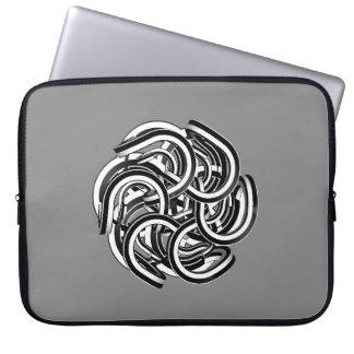 wirbel Knäuel Laptop Computer Schutzhülle