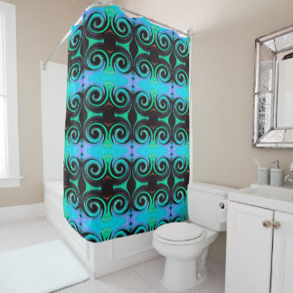 Wirbelnde Farben 03.2.3 Duschvorhang