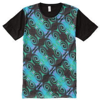 Wirbelnde Farben 03,2. - 45,2 T-Shirt Mit Bedruckbarer Vorderseite