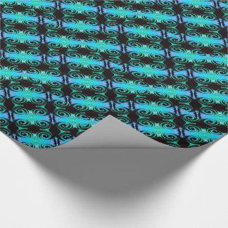 Wirbelnde Farben 03,2 Geschenkpapier