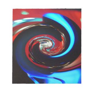 Wirbelnde Farben, Wirbelnde Farben Notizblock