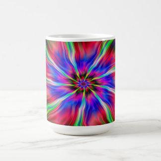 Wirbelnde Stern-Tasse Kaffeetasse