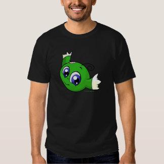 Wirbelndes grünes kiko shirt