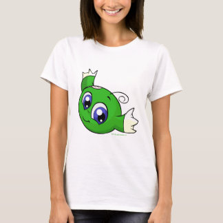 Wirbelndes grünes kiko T-Shirt