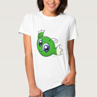 Wirbelndes grünes kiko t shirts