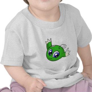 Wirbelndes grünes kiko hemd