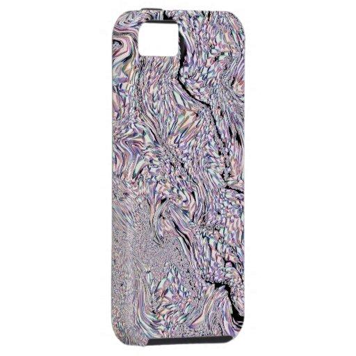 Wirbelndes Regenbogen-Fraktal-Muster - iPhone 5 Fa iPhone 5 Schutzhüllen