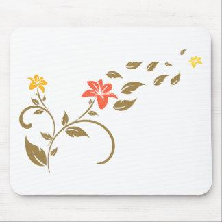 Wirbels-Blumen Mauspads