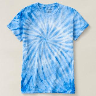 WIRBELSTURM blaue gefärbte Krawatte DIY addieren T-shirt