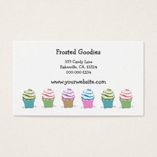 Wirble kleine Kuchen Visitenkarte