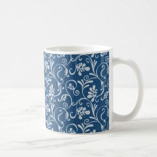 Wirbles Blumendenim Tassen