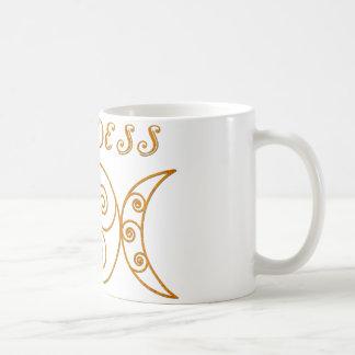 Wirbles dreifaches Göttin-Symbol Kaffeetasse