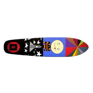 Wirklich fantastischer Entwurf - Colage Skateboard Personalisierte Skatedecks