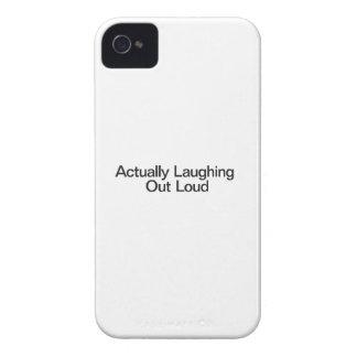 Wirklich heraus Loud lachend iPhone 4 Case-Mate Hülle