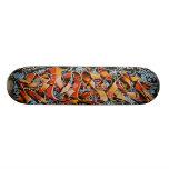 Wirkliche abstrakte Graffiti-Kunst-Skate-Brett-Pla Personalisierte Decks