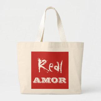 Wirkliche amor Taschentasche Jumbo Stoffbeutel