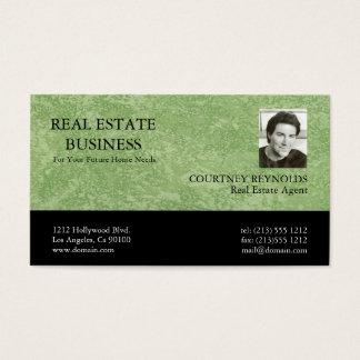 Wirkliche Anwesen-Agent Marmorino Geschäfts-Karten Visitenkarte