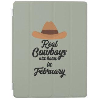 Wirkliche Cowboys sind Bon im Februar Zi955 iPad Hülle