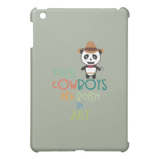 Wirkliche Cowboys sind geborene im Juli Zf3vh iPad Mini Hülle