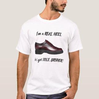 Wirkliche Ferse T-Shirt