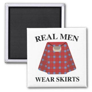 Wirkliche Herrenbekleidung-Röcke Quadratischer Magnet