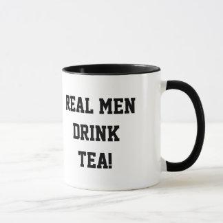 Wirkliche Mann-Getränk-Tee-Tasse Tasse