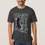 Wirkliche Mann-Liebe-Katzen-Scratchy Art Hemden